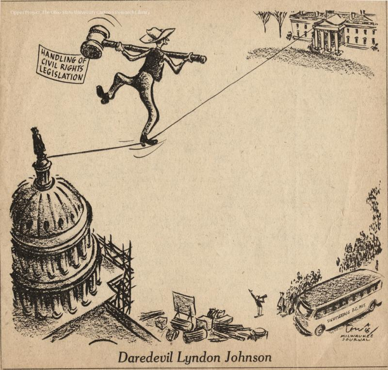 Daredevil Lyndon Johnson