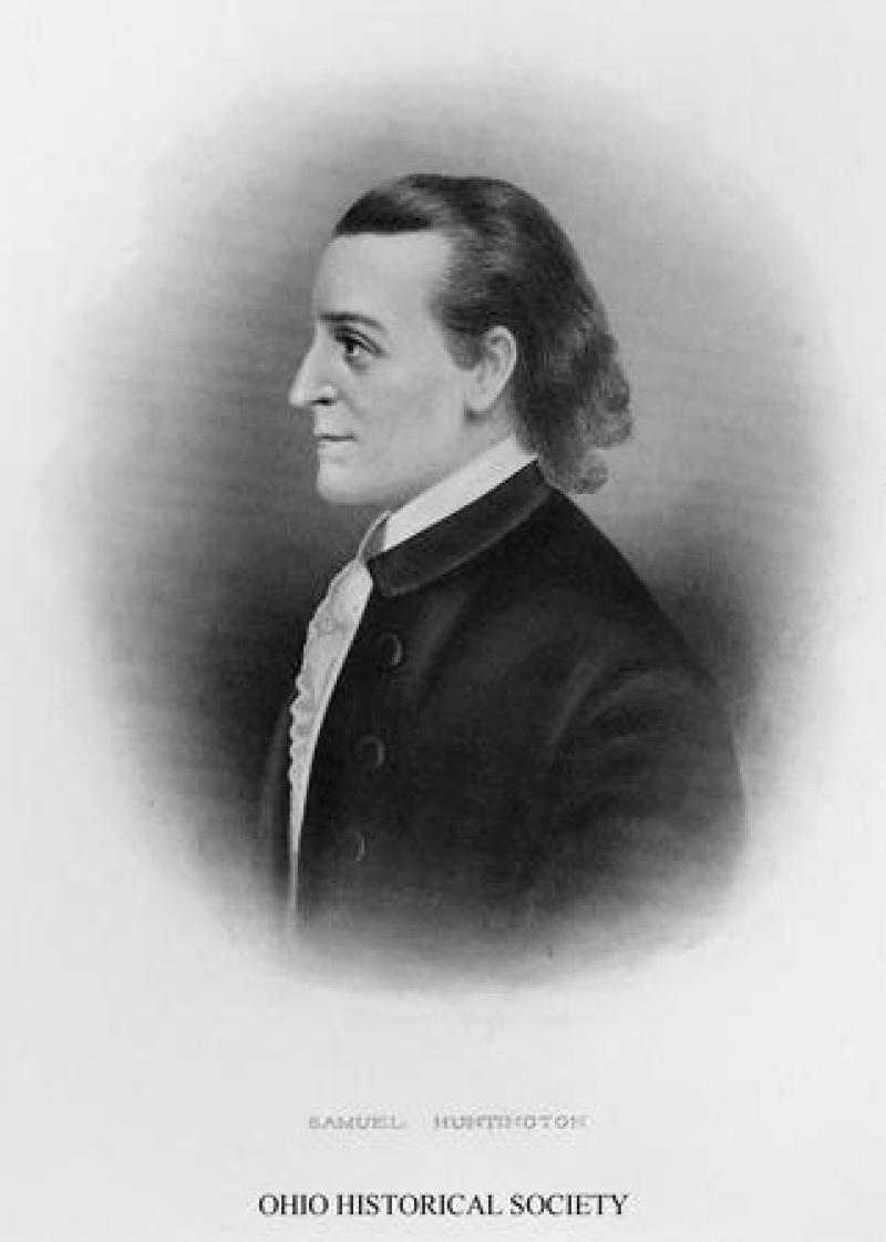 Samuel Huntington, Ohio's third governor