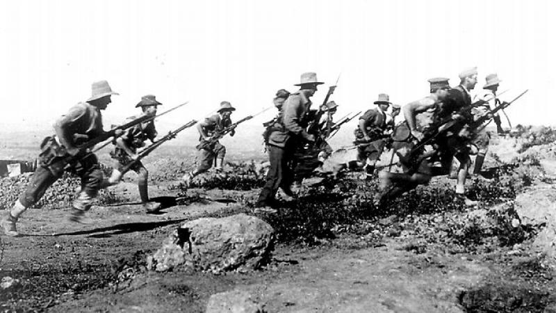 Soldiers during the Gallipoli Campaign