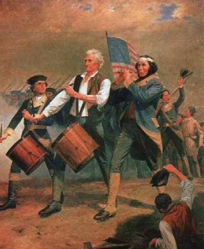 Revolutionary War Fife and Drum Corp