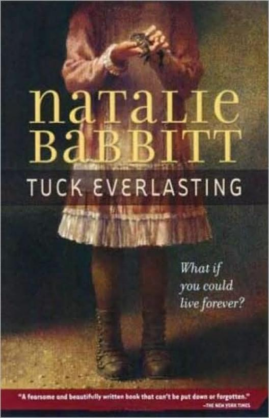 book cover of Tuck Everlasting by Natalie Babbitt