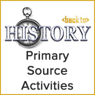 Back to History: American History Primary Source Activities