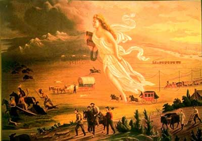 the manifest destiny history in the united states Manifest destiny, in us history, the supposed inevitability of the continued territorial expansion of the boundaries of the united states westward to the pacific and beyond before the.