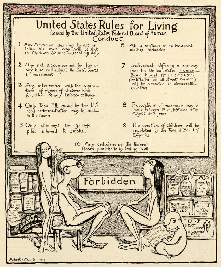 United States Rules for Living