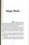 Magic Words, a chapter from Norman Vaughan's book With Byrd at the Bottom of the World